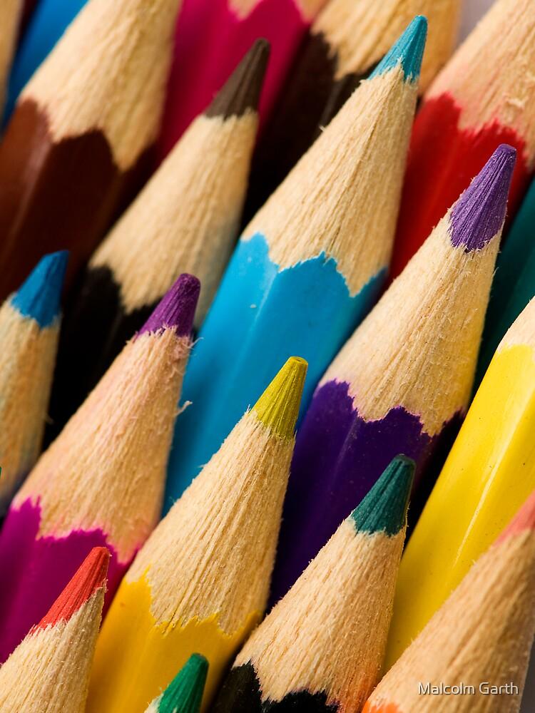 Pencils 2 by Malcolm Garth