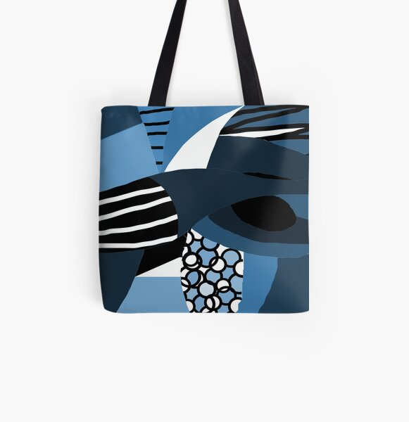 Blue miracle Allover-Print Tote Bag