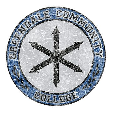 Greendale Community College's New Logo (Community) by ImSecretlyGeeky