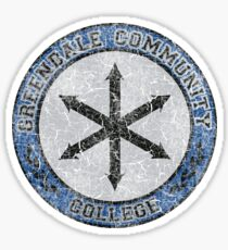 Greendale Community College's New Logo (Community) Sticker