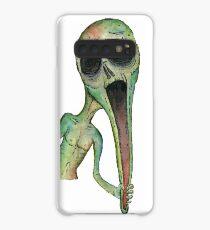 Longface - Scream Hülle & Klebefolie für Samsung Galaxy