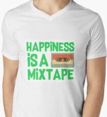 Happiness is a mixtape Men's V-Neck T-Shirt