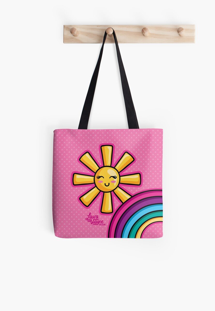 Rainbow Sunshine - Laura Wayne Design by LauraWayne