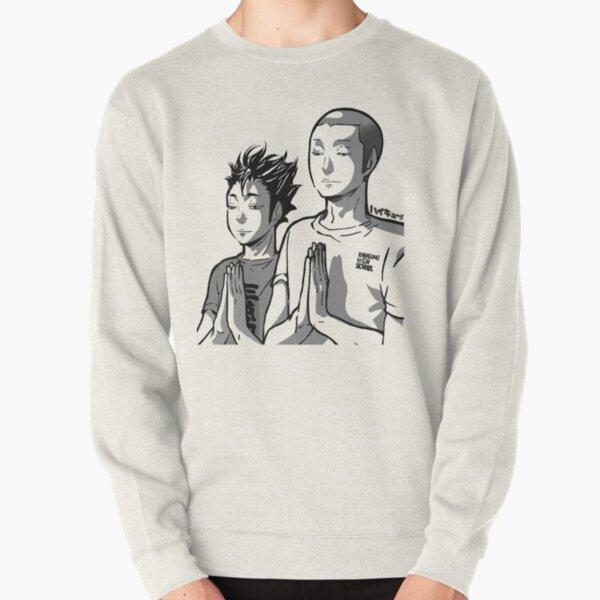 Haikyu!! - TanaNoya Praying Shirt Pullover Sweatshirt