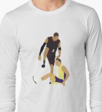435c2485d Allen Iverson Steps Over Tyronn Lue Long Sleeve T-Shirt