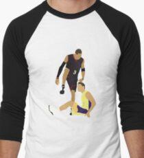 Allen Iverson Steps Over Tyronn Lue  Men's Baseball ¾ T-Shirt
