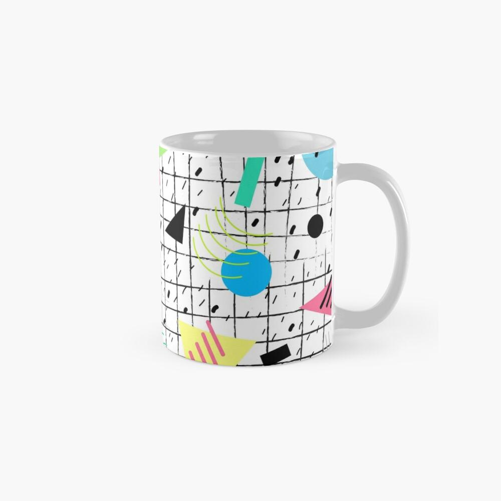 Memphis Style Vibes (Light) Classic Mug