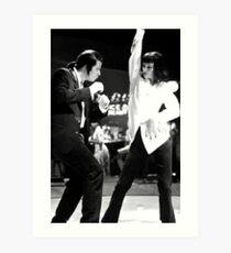 Lámina artística PULP FICTION DANCE