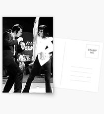 PULP FICTION DANCE Postcards