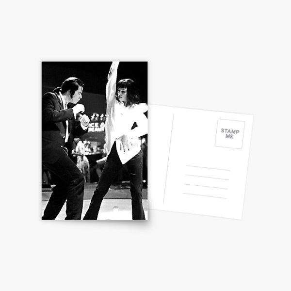 PULP FICTION DANCE Postcard