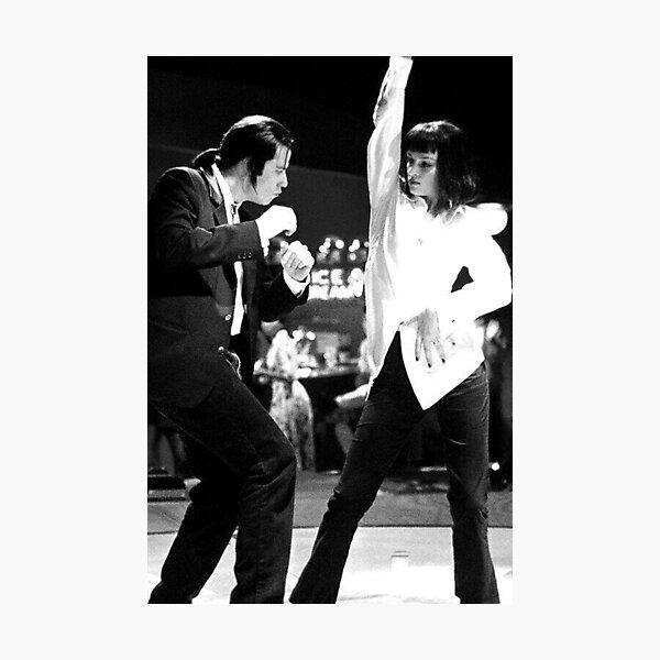 PULP FICTION DANCE Photographic Print