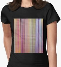 Acrylic Paint Drip Design Women's Fitted T-Shirt