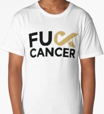 Fuck Cancer Campaign Long T-Shirt