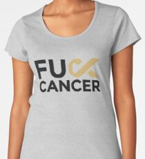 Fuck Cancer Campaign Women's Premium T-Shirt