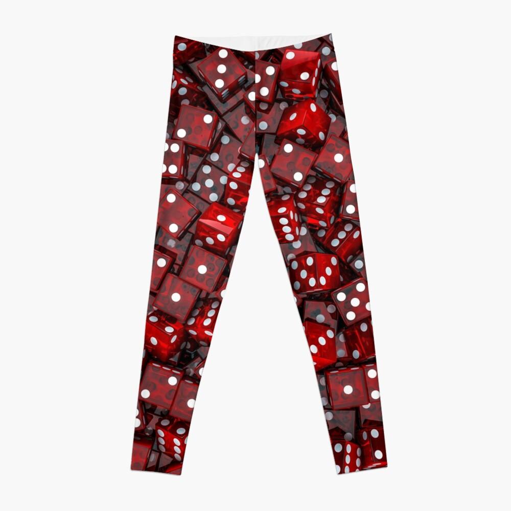Red dice Leggings