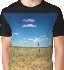 Golden Grass and Blue Skies Graphic T-Shirt