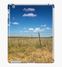 Golden Grass and Blue Skies iPad Case/Skin