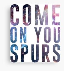 Come On You Spurs N17 Metal Print