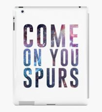 Come On You Spurs N17 iPad Case/Skin