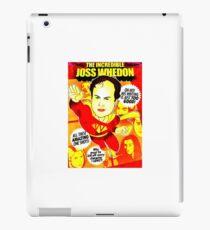 The Incredibel Joss Whedon iPad Case/Skin