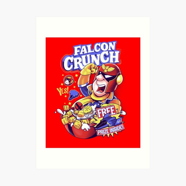 Falcon Crunch Art Print