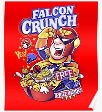 Falcon Crunch Poster