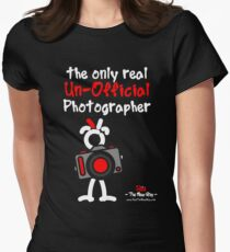 Red - The New Guy - The only real Un-Official Photographer Women's Fitted T-Shirt