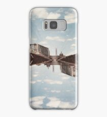 Film photography: Double exposure at the station Samsung Galaxy Case/Skin