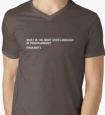 What is the most used language in programming? T-Shirt