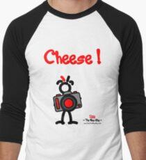Red - The New Guy - Cheese ! Men's Baseball ¾ T-Shirt