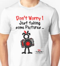 Red - The New Guy - Don't Worry ! Just taking some pictures .. Unisex T-Shirt