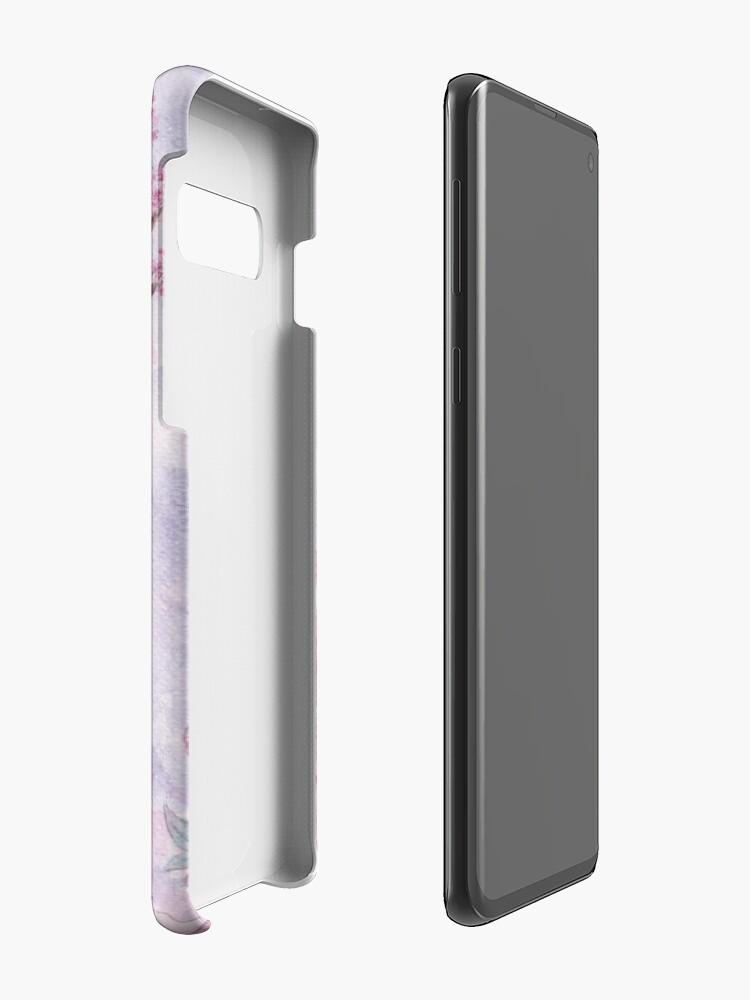 Alternative Ansicht von Kirschblüten-Geweihe Hülle & Klebefolie für Samsung Galaxy