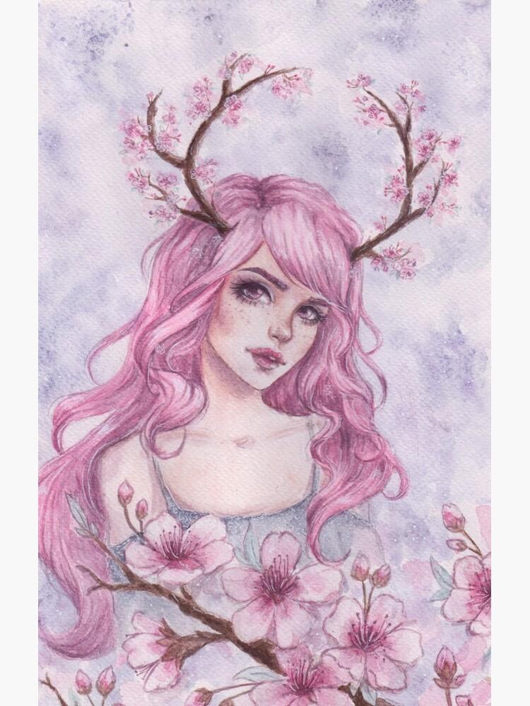 Kirschblüten-Geweihe von ARiAillustr