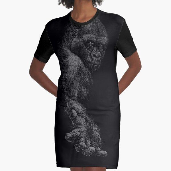 GREAT APE T-Shirt Kleid