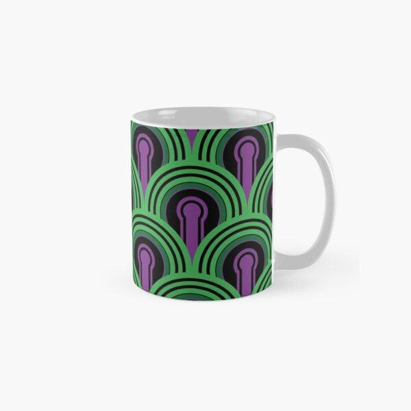 Overlook Hotel Carpet from The Shining: Purple/Green Classic Mug