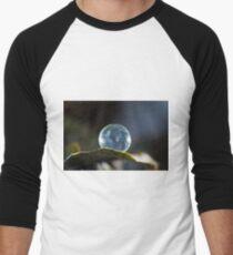 Frozen Balance  Men's Baseball ¾ T-Shirt