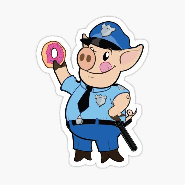 Police Pig Sticker