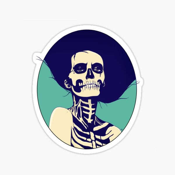 Día de las Muertas Sticker