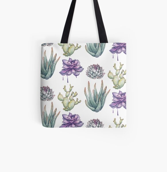 Sprouts All Over Print Tote Bag