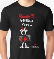 Red - The New Guy - Ready ?! Strike a Pose .. Unisex T-Shirt