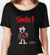 Red - The New Guy - Smile ! Women's Relaxed Fit T-Shirt