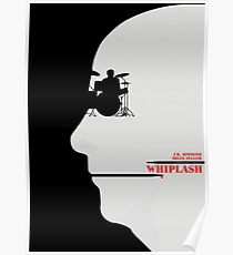 Whiplash - Alternate Minimalist Movie Poster Poster