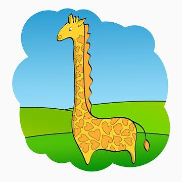 Giraffe by Valeka