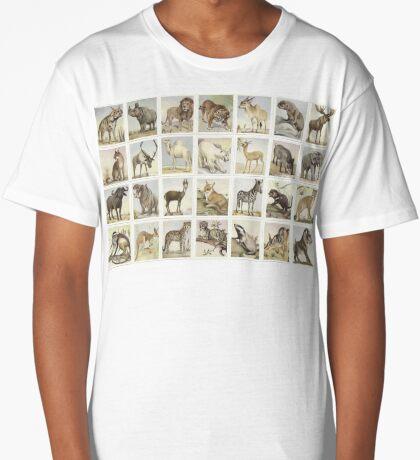 30 Animal Studies Long T-Shirt