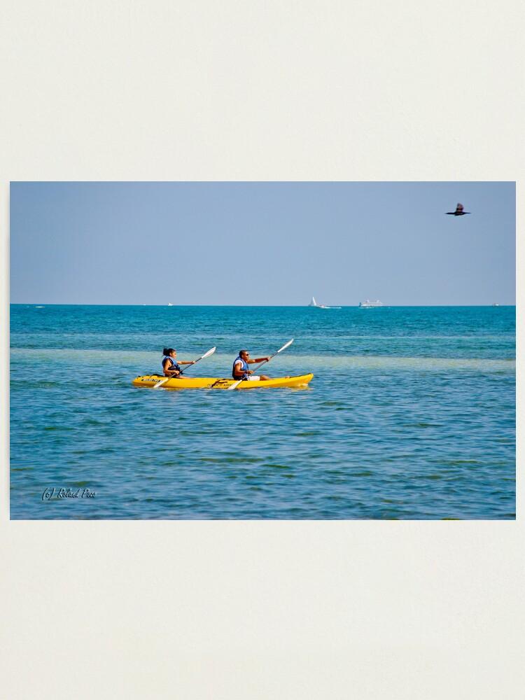 Alternate view of Kayaking Photographic Print