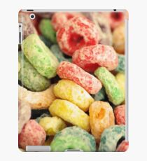 Colourful Fun Abstract Food Art Kitchen Diner Breakfast Cereal iPad Case/Skin