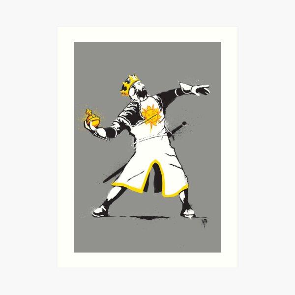 Banksy Python 1-2-5 Art Print