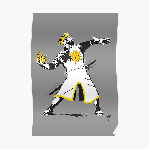 Banksy Python 1-2-5 Poster