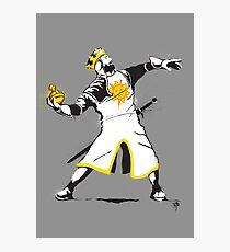 Banksy Python 1-2-5 Photographic Print