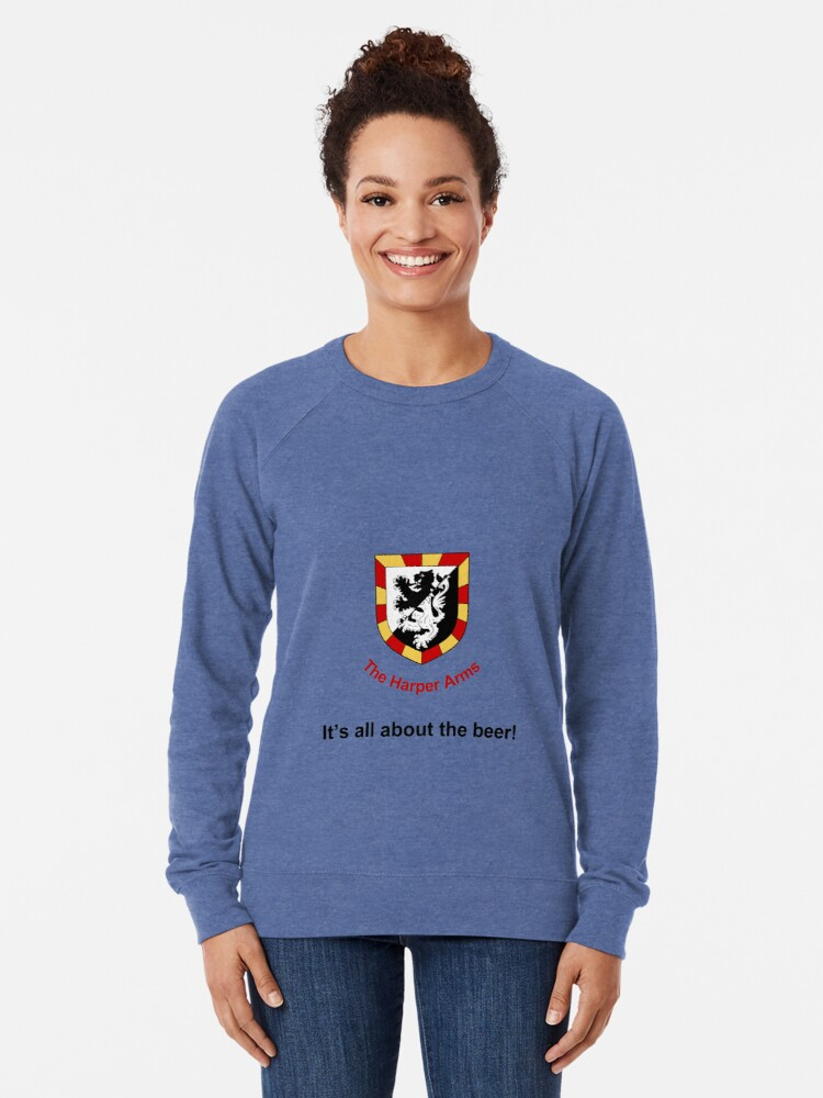 Alternate view of Harper Arms All About the Beer Lightweight Sweatshirt